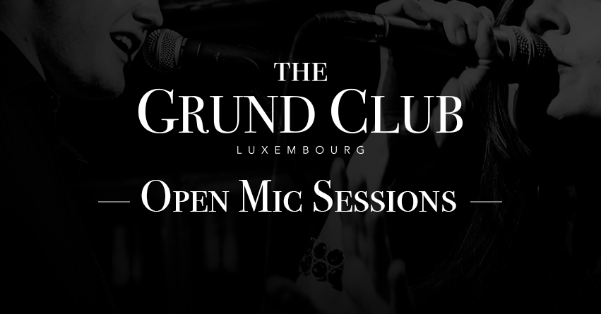 THE GRUND CLUB OPEN MIC